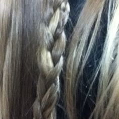 Weaved in braid I really like