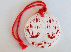Ceramic Christmas Ornaments birds Ornament ceramic Christmas