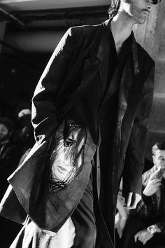Yohji Yamamoto pour homme A/W 17-18 Backstage