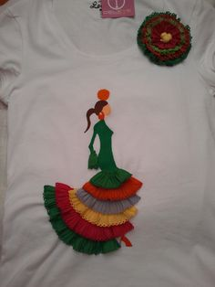 DELeye ComPlemenTos presenta sus camisetas flamencas, especiales para lucirlas por el real de la feria, por el ROCIO o para un dia de verano...