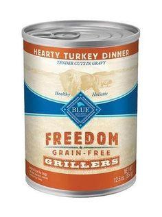 Blue Buffalo Freedom Grillers Turkey Can Dog Food 12/12.5 oz
