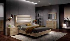 MUEBLES MUÑOZ - dormitorios actuales CATALOGO 5 Camas King, Bedroom, Furniture, Design, Home Decor, Mirror, Face, Ideas, Model