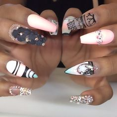See this Instagram photo by @nailsbymztina • 4,925 likes