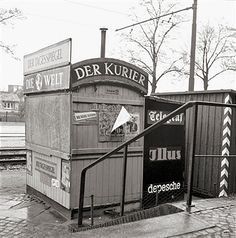 New Zeitungskiosk in Lichterfelde West Berlin
