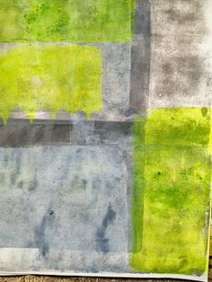 Gelli plate printing.. continues - Dudley Redhead