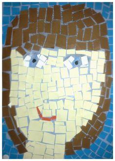Mosaiikki-muotokuva (4.-5.lk)