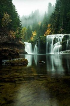 Lower River Falls, Washington. I'll have to find this place when I move there.