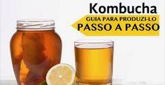 Como fazer em casa o kombucha, a bebida probiótica que cura o intestino e restaura as forças e a imunidade! | Cura pela Natureza