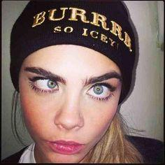 Model Instagram Selfies - Cara Delevingne