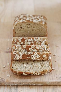 My Diverse Kitchen: Honey Oatmeal Quick Bread  No yeast, no kneading.