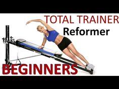 Total Trainer Reformer Training For Beginners - YouTube