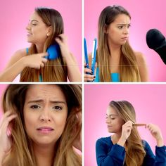 These hair hacks are easy to incorporate to your daily beauty routine! Formal Hairstyles, Pixie Hairstyles, Bride Hairstyles, Cute Hairstyles, Professional Hair Salon, Hair Streaks, Tips & Tricks, Tips Belleza, Beauty Routines