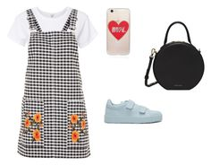 """""""Wide/Full Outfit"""" by astrupp on Polyvore featuring RE/DONE, Topshop, Jil Sander, Sonix and Mansur Gavriel"""