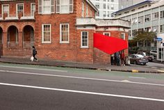 Cineminha na escada! Engaging Architectural Installation On Auckland's Streets