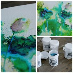 Brusho Painting - I am finding it difficult to locate this product in the US - will have to go to Europe online if I want to try these.