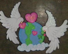 l Holiday Crafts, Fun Crafts, Arts And Crafts, Paper Crafts, Diy Paper, Special Needs Art, Egg Carton Crafts, Alcohol Ink Crafts, Paper Birds