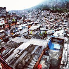 Favela de Rocinha #RiodeJaneiro
