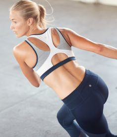 We took the Double Dare and brought it up a notch with a new, skinnier racerback and new cutouts for ventilation plus the same wicking, breathable performance you love. Best Ab Workout, Abs Workout Routines, Workout Gear, Fun Workouts, Workout Tanks, Physical Fitness, Yoga Fitness, Fitness Wear, Fitness Fashion