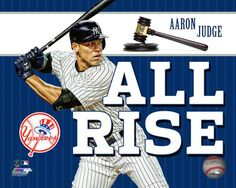 Aaron Judge New York Yankees Licensed All Rise 8x10 Photo. Check out cojohockey.com for more!