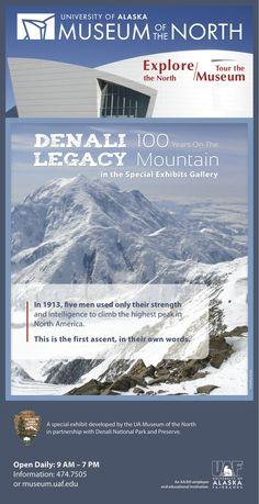 #museum #exhibit #climbing #denali