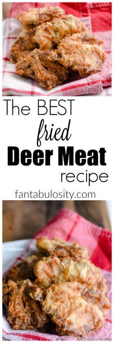 How to Cook Deer Meat: Fried Steak, Tenderloin & Backstrap Recipe