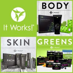 It Works! provides complimentary #skincare and #nutrition product lines! Enhance both your inner and outer you! GetTheItBody.myitworks.com