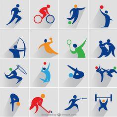 Бесплатные иконки на спортивную тематику