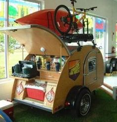 Teardrop Trailers and Campers
