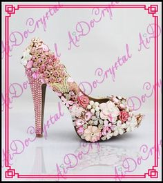 34 Best Aidocrystal crystal rhinestone Shoes images  ae5c5e47696e