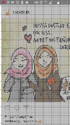 Etamin Dostluk; Kanaviçe Dostluk; Dostluk şablonu;  Benim tasarımımdır kızlar