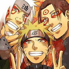 Jiraiya, Naruto, Hashirama