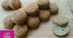Paleo cukkinis pogácsa (szénhidrát-csökkentett, gluténmentes, tejmentes, élesztőmentes)
