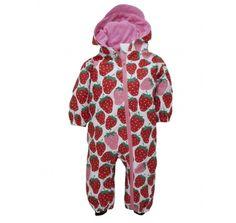 Hatley Summer Strawberries Infant Bundler Waterproof Splashsuit at Wellies and Worms £39.95