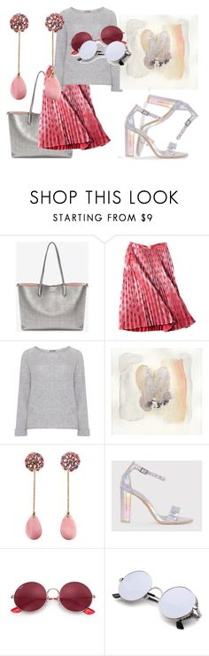 """""""Hanging Out"""" by rhymingscapes on Polyvore featuring Alexander McQueen, Samoon and Ray-Ban"""