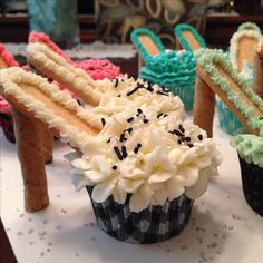 High Heel Cupcakes made for a Bridal Shower