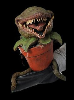MAN EATING PLANT PUPPET Halloween Prop
