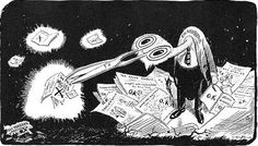 Stars of Political Cartooning – Art Young   (come back to this page, really interesting)