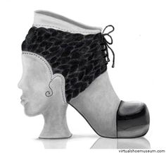 Braided Shoe, the Virtual Shoe Museum.