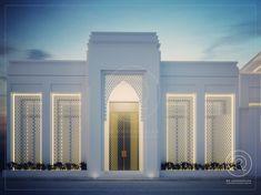 #villa #exteriordesign #qatar Classic House Exterior, Classic House Design, Dream House Exterior, Classic Architecture, Modern Architecture House, Space Architecture, Villa Design, Facade Design, Exterior Design