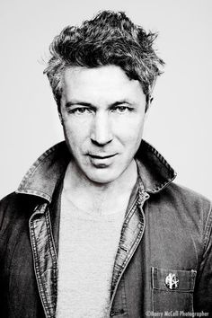 Aidan Gillen by Barry McCall, this picture cracked me up because it is totally how Bealish looks in his own head