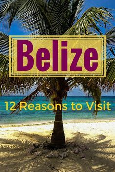 12 reasons you'll love travel to Belize! Though the title focuses on Honeymoon…