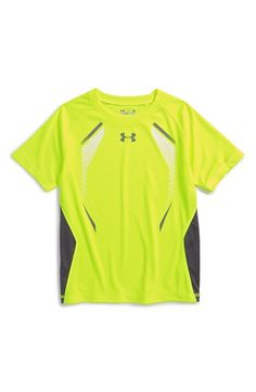 Under Armour 'Glow' HeatGear® T-Shirt (Toddler Boys & Little Boys) available at #Nordstrom