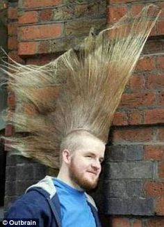 Pictures gallery of crazy hair cut Crazy Real Haircuts Game Dress Up Games Crazy Hair Styles -In Sty. Funny Baby Images, Funny Pictures For Kids, Crazy Pictures, American Funny Videos, Funny Dog Videos, Humor Videos, Justin Bieber Jokes, Funny Dresses, Best Funny Photos