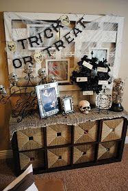 Very Merry Vintage Syle: Halloween Black & White Inspiration