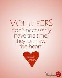 Image result for appreciation quotes for volunteers