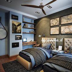 Мои домики. Спальня детская гостевая для двоих мальчиков. #egorova_marina #domoff_group #domoff_interiors #domof