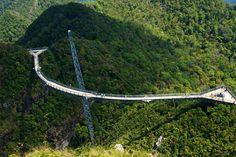 Walk acorss Langkawi Sky Bridge, Malaysia - Bucket List Dream from TripBucket