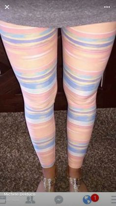 The coveted pastel stripes