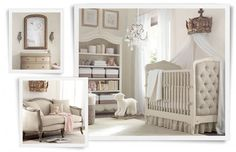 A chic nursery! From