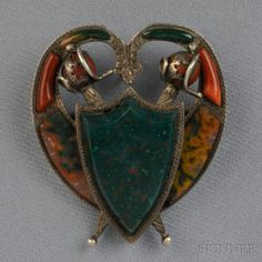 Victorian Scottish Agate Pendant/Brooch | Sale Number 2711B, Lot Number 207 | Skinner Auctioneers